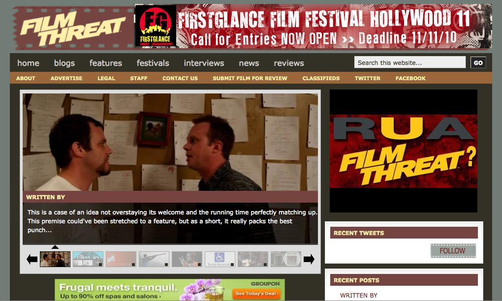 FilmThreat.com Homepage